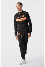 Black Bananas BLCK BNNS Anorak Neon Tracksuit Black/Orange