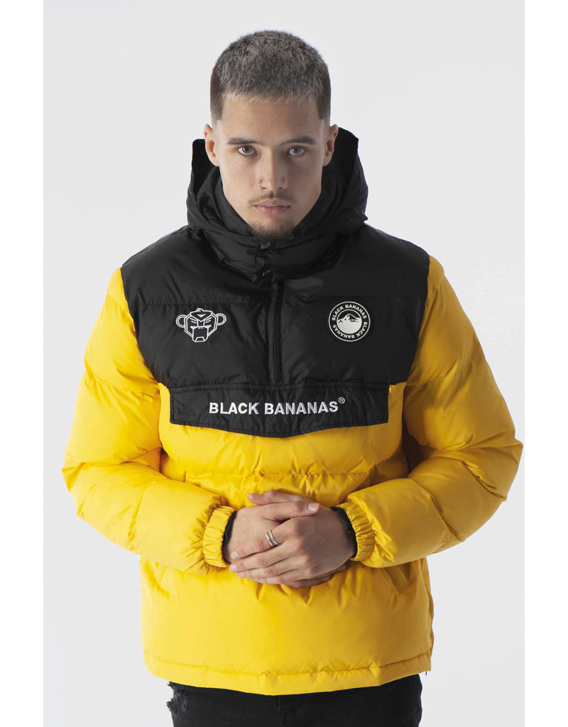 Black Bananas BLCK BNNS Anorak Block Jacket Yellow