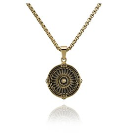 Croyez Croyez Medallion Chain