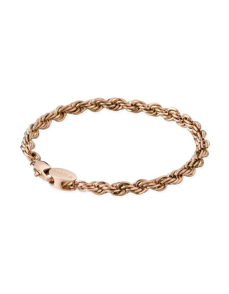 Croyez Croyez Rope Bracelet Rosegold