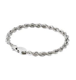 Croyez Croyez Rope Bracelet Silver