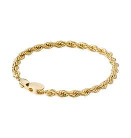 Croyez Croyez Rope Bracelet Gold