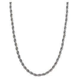 Croyez Croyez Rope Chain Silver