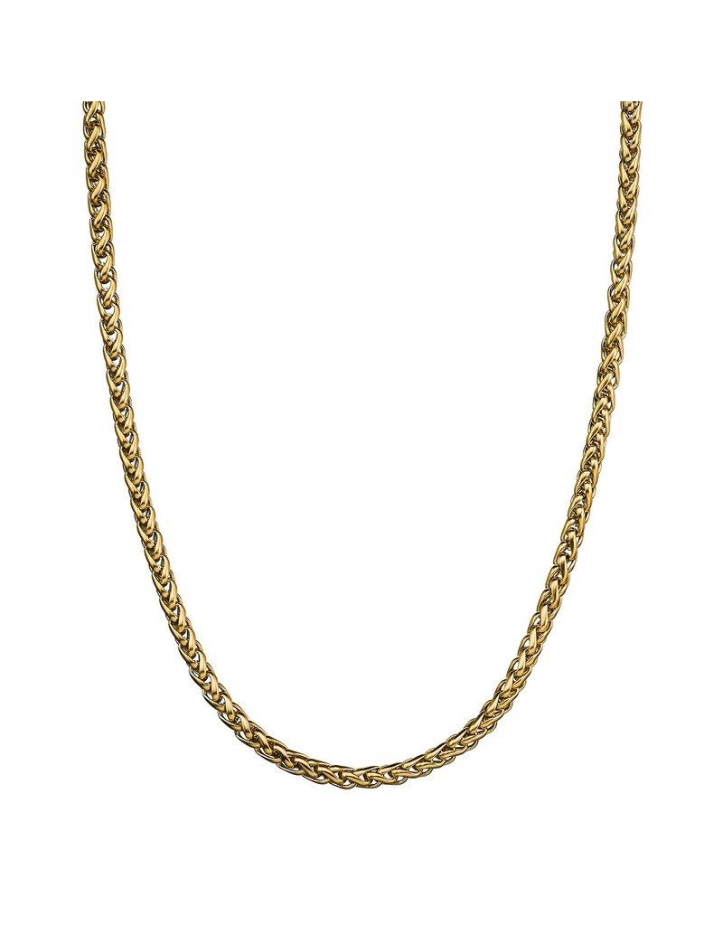 Croyez Croyez Wheat Chain Gold