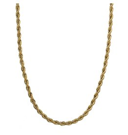 Croyez Croyez Rope Chain Gold