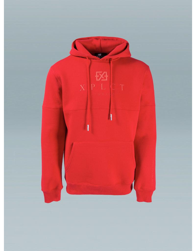 XPLCT Studios XPLCT Brand Hoodie Red