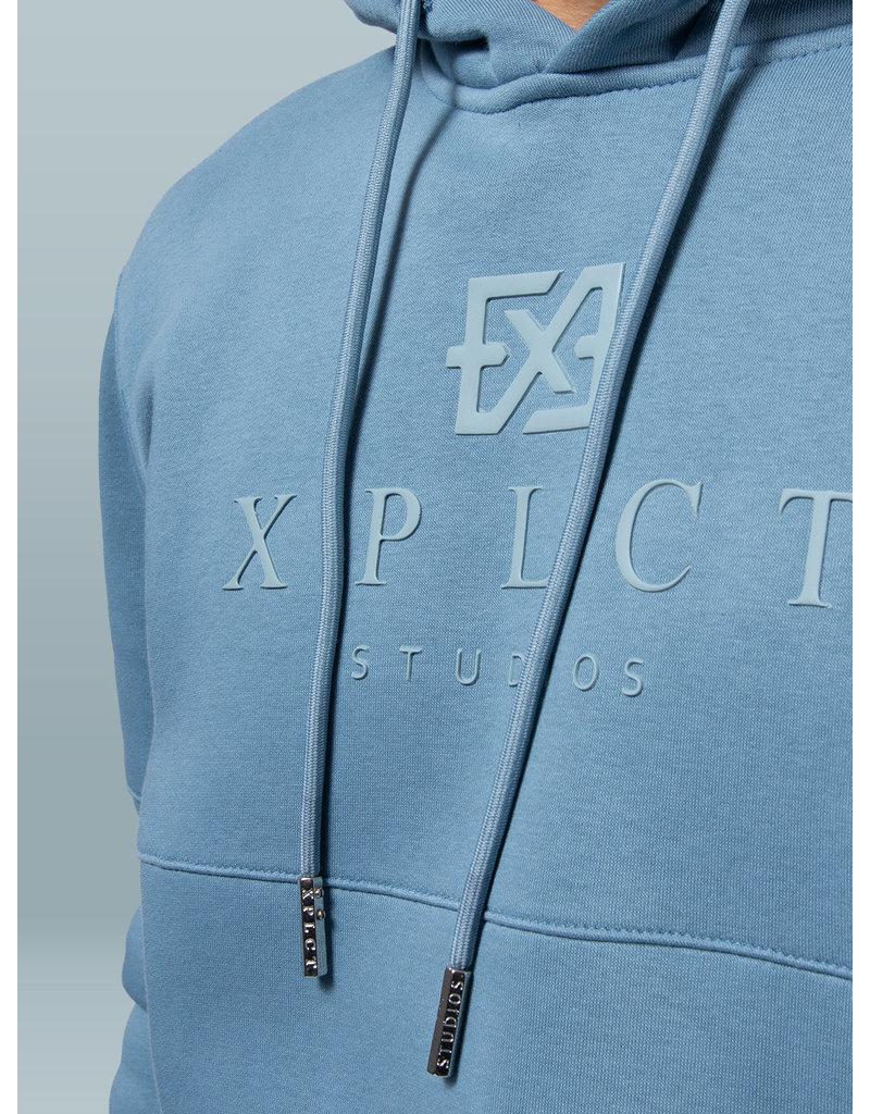 XPLCT Studios XPLCT Brand Hoodie Aqua