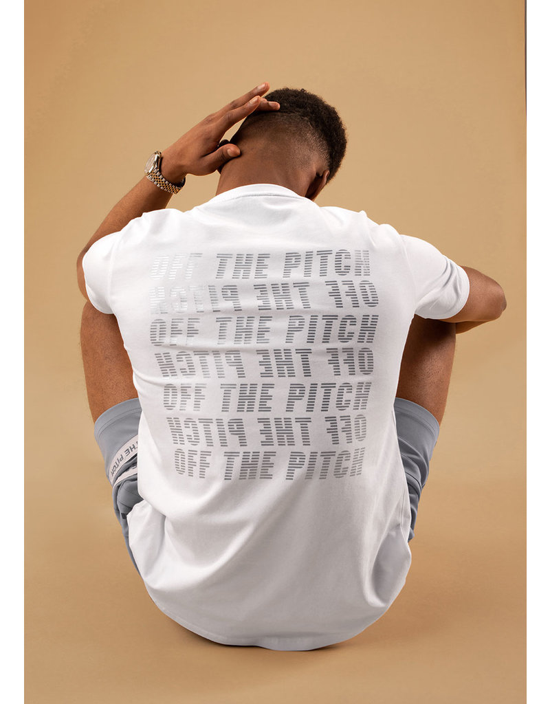 Off The Pitch OTP Galaxy Tee White