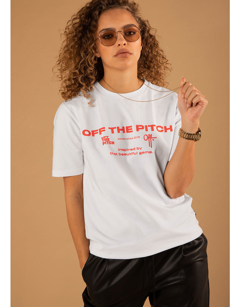 Off The Pitch OTP The Sage Tee White/Orange