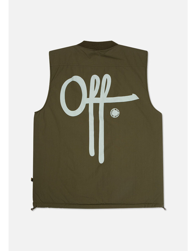 Off The Pitch OTP Comet Bodywarmer Army