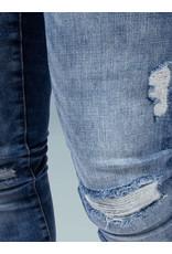 XPLCT Studios XPLCT Destroyed Jeans Blue