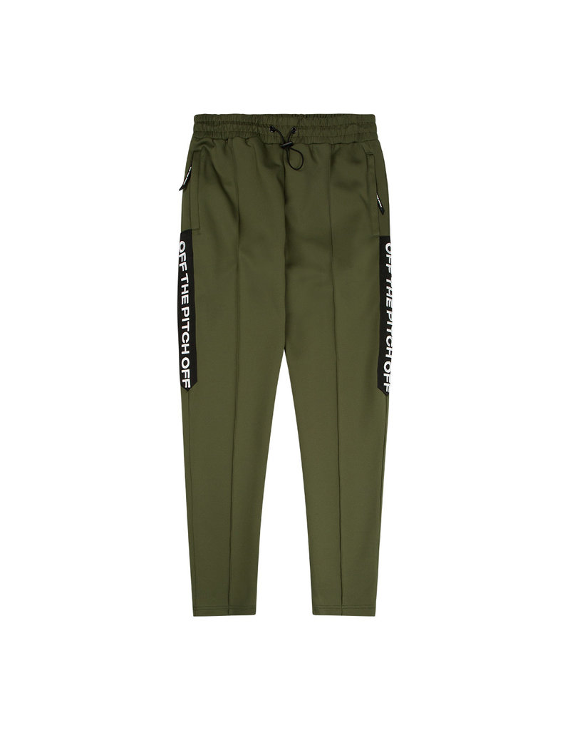 Off The Pitch OTP Soul Half-Zip Suit Green