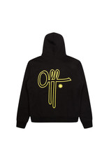 Off The Pitch OTP Full Stop Hoodie Black/Yellow