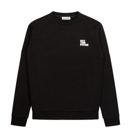 Off The Pitch OTP Full Stop Sweater Black/White
