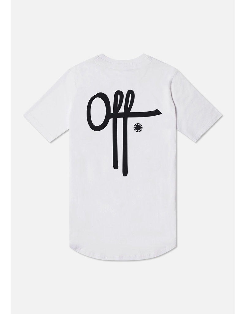 Off The Pitch OTP Full Stop Tee White/Black