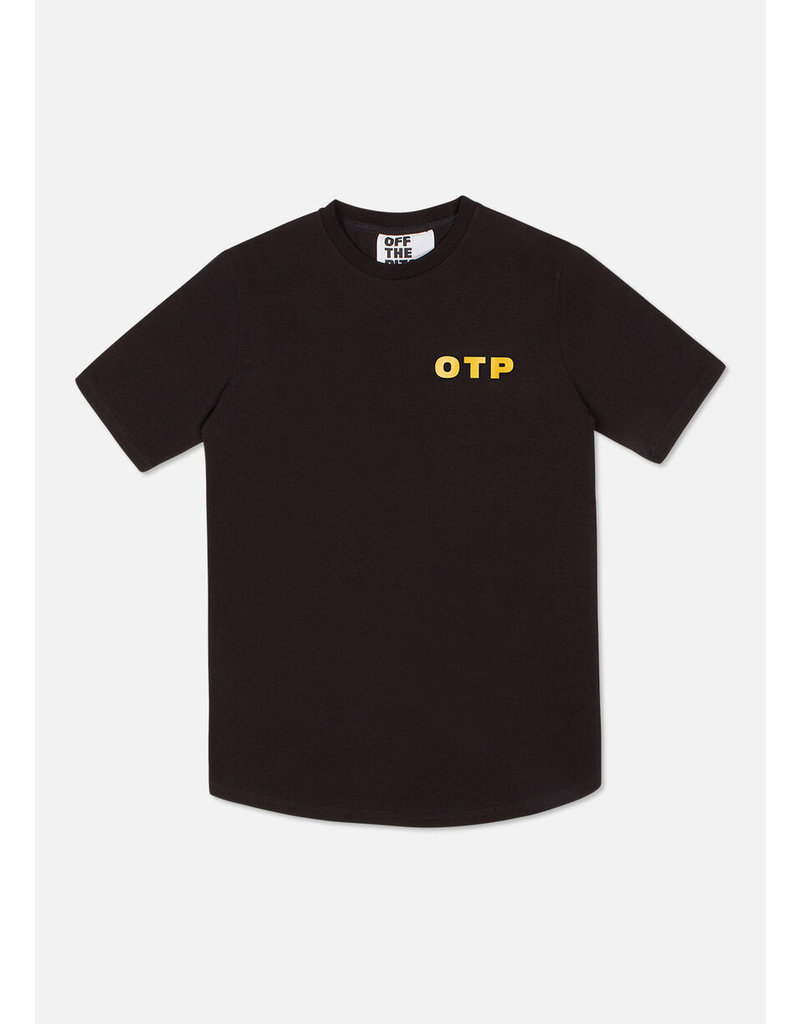 Off The Pitch OTP Full Stop Tee Black/Yellow