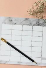 Mealplanner / foodplanner (A4)  met 50 bladen