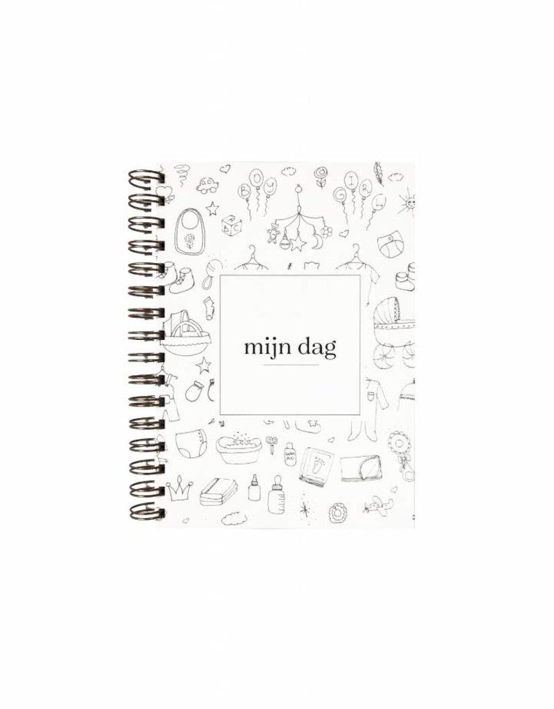KDV / crèche / oppas / gastouder  boek (doodle print)