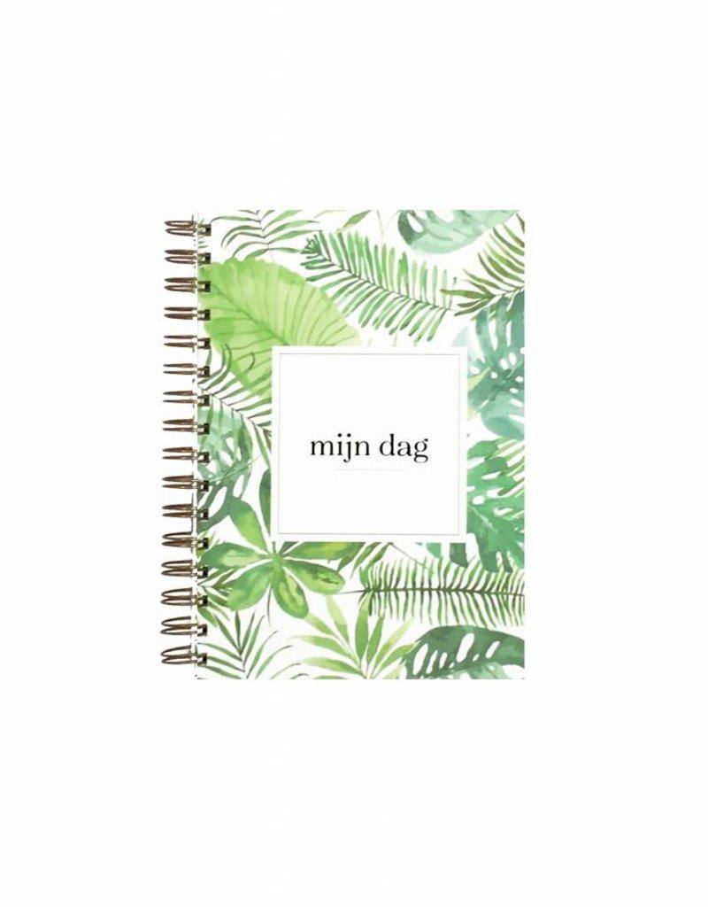 KDV / crèche / oppas / gastouder  boek (botanische print)