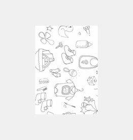 Baby kaart  (postcard A6)