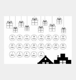 Sinterklaas aftelkalender