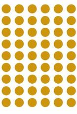 Meerdere kleuren | stippen stickervel S