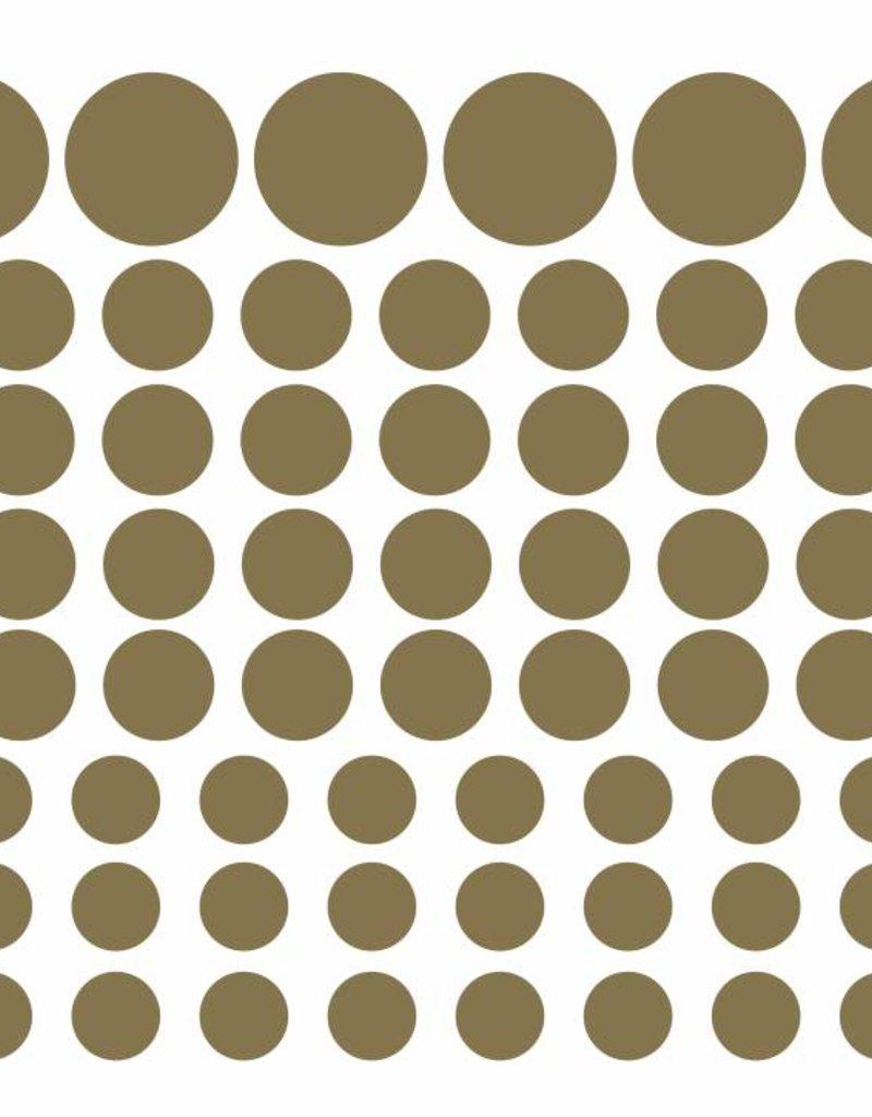 Meerdere kleuren | stippen stickervel L