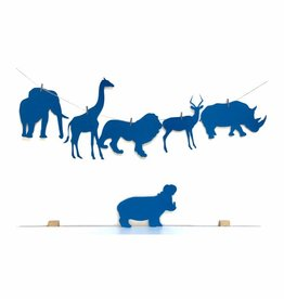 Meerdere kleuren | Slinger Safari  (6 / 8 figuren)