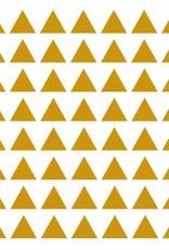 Meerdere kleuren | driehoekjes  stickervel S