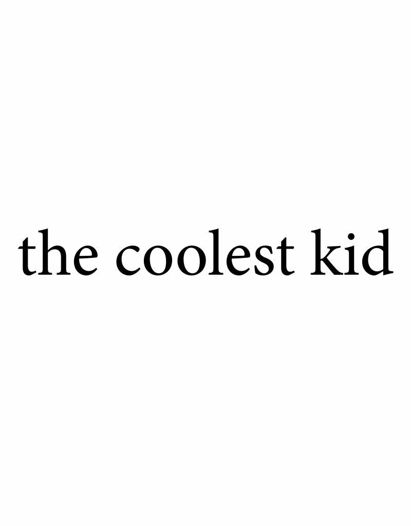 Meerdere kleuren |  the coolest kid (XL)