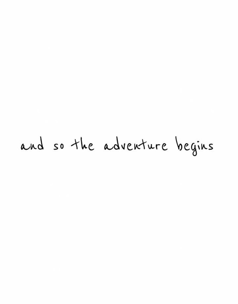 and so the adventure begins-  muursticker