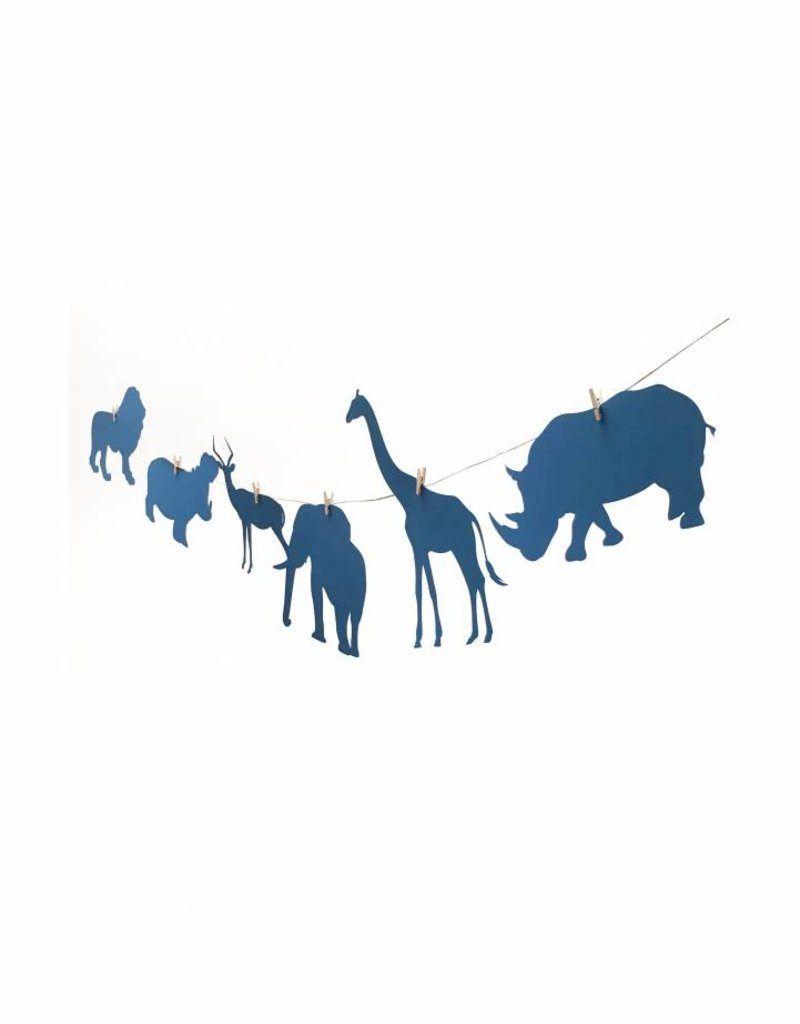 Meerdere kleuren | Slinger Safari  (6  figuren)