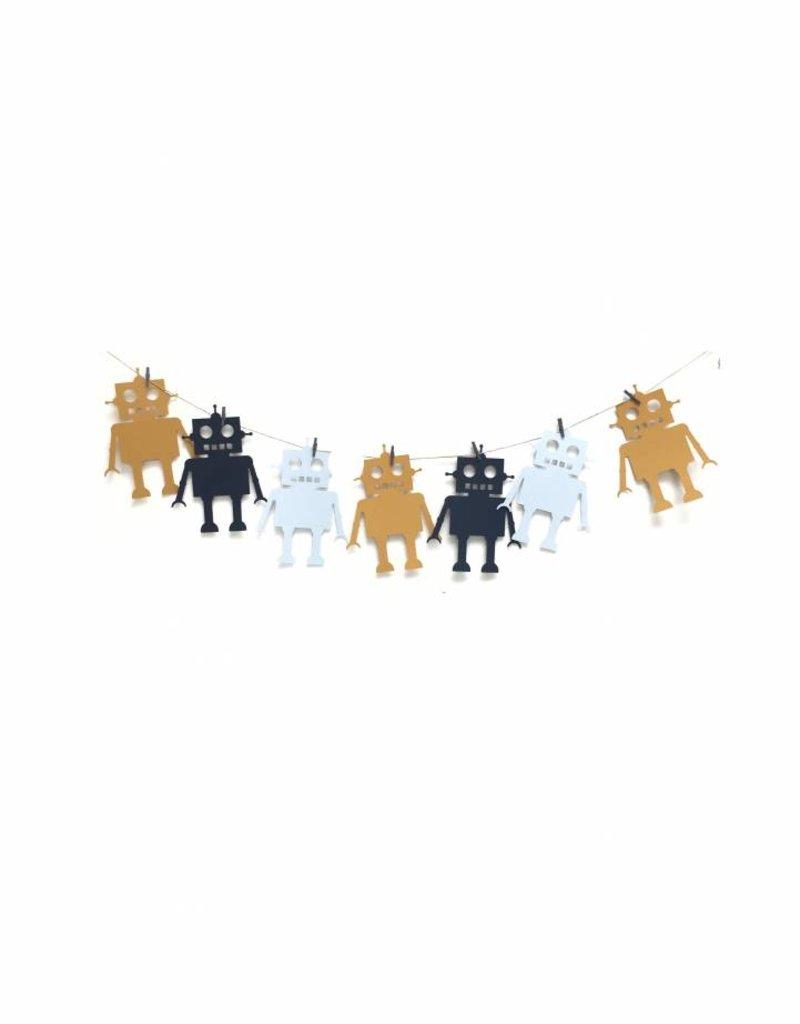 Meerdere kleuren | Slinger Robots (6 / 8 figuren)