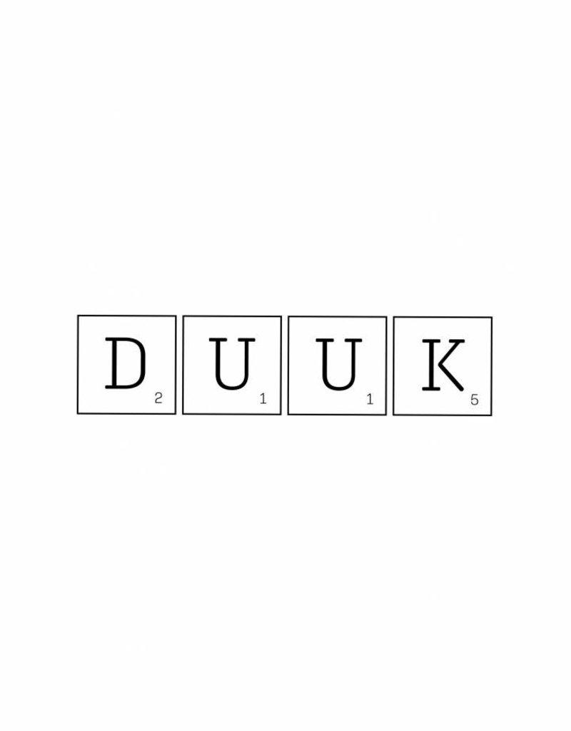 Scrabble letters naam