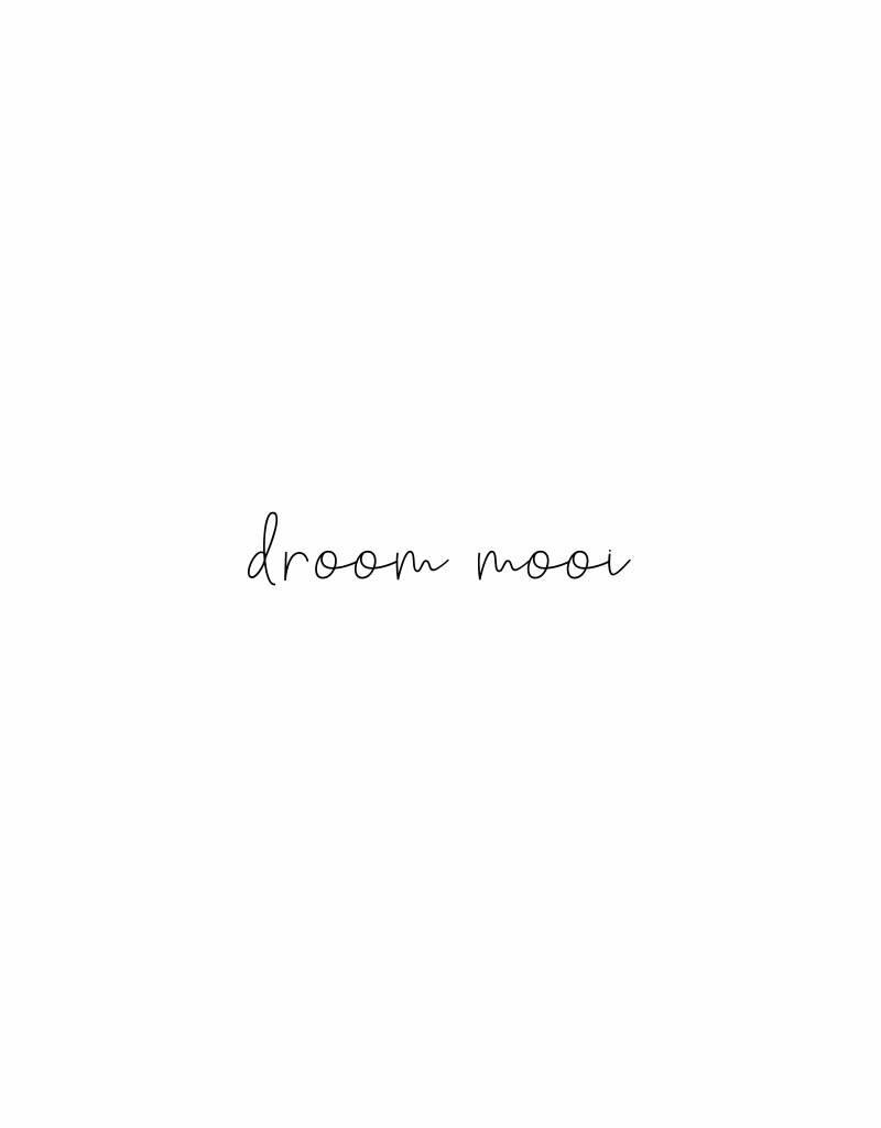 droom mooi-   sticker