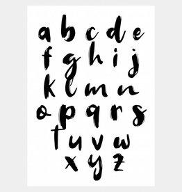 Alfabet poster (A4/A3)