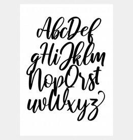 Alfabet poster  (2)  (A4/A3)