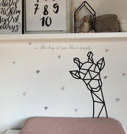Giraf geometrisch