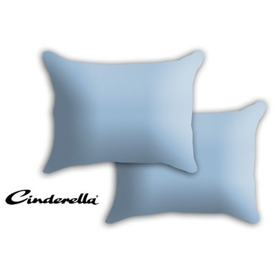 Cinderella Kussensloop Cinderella Basic Saffier set 2 stuks