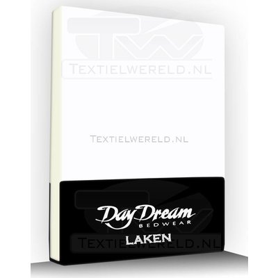 Day Dream Flanellen Laken Day Dream Wit
