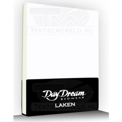Day Dream Laken Katoen Day Dream Wit