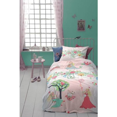 Cinderella Dekbedovertrek Katoen Cinderella Dreamland Pink