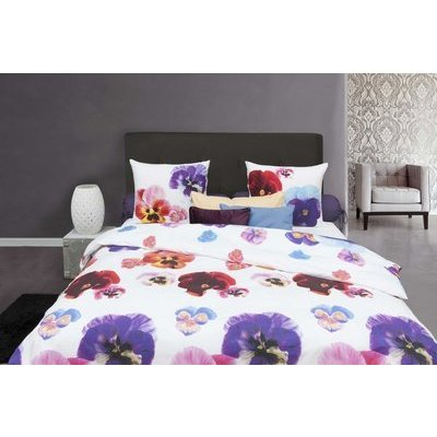 Pure Cotton Dekbedovertrek Katoen Violet Garden