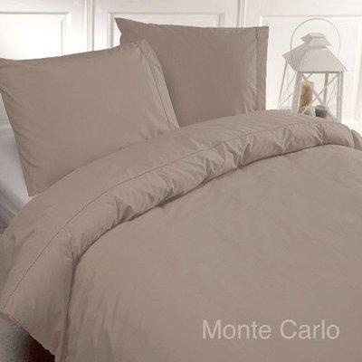 Papillon Deluxe Dekbedovertrek Percale Katoen Monte Carlo Zand