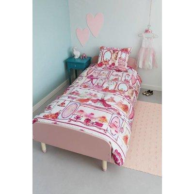 Beddinghouse Dekbedovertrek Katoen Beddinghouse Princess Wardrobe Pink