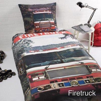Day Dream Kinderdekbedovertrek Firetruck Day Dream