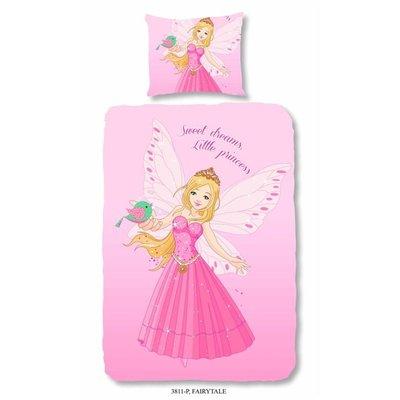 Goodmorning Dekbedovertrek Katoen Fairytale Rose
