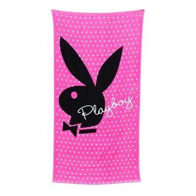 Huismerk Strandlakens Playboy Pleasure Pink