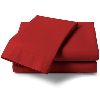 HNL Living Hoeslaken Perkal Katoen HNL Royal Cotton Aurora Red