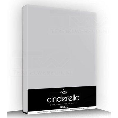 Cinderella Hoeslaken Katoen Cinderella Basic Zilver